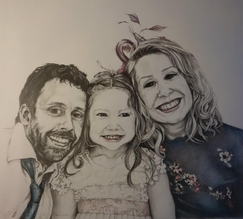 Swain family portrait