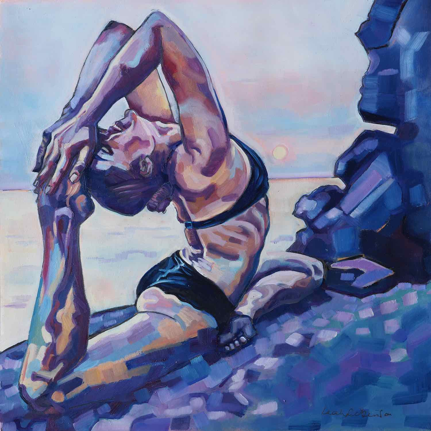 yoga-art-painting