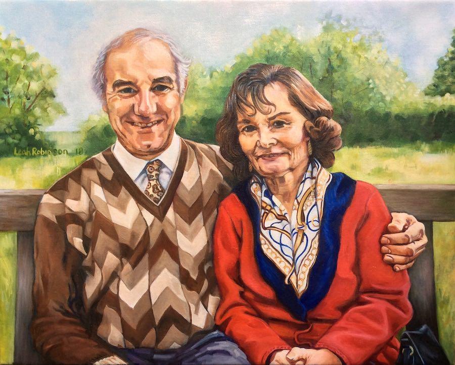 Mr and Mrs Baker